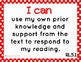 """Common Core ELA and Math Kid Friendly """"I Can"""" Statements 5"""