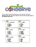 Common Core Earth Day Reading Comprehension Pack