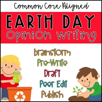 Common Core Earth Day Writing