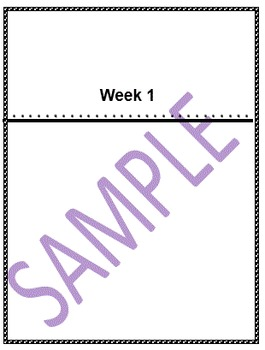 """Common Core Easy 1"""" Spine, Outside Cover, and Front Page -  Black and White"""