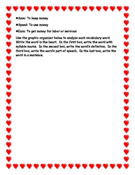 Common Core Economics' Unit with a Valentine's Day Twist