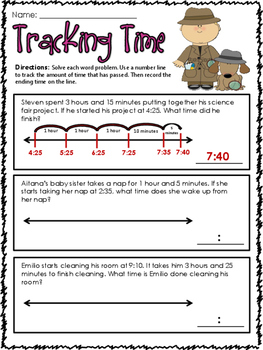 Common Core: Elapsed Time Bundle