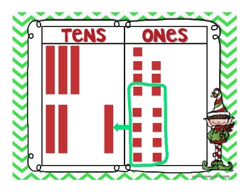 Common Core Elf Addition with Regrouping 2.NBT.7