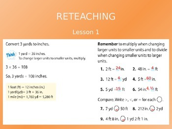 2012 Common Core EnVision Math Fifth Grade Topic 13 Review PowerPoint