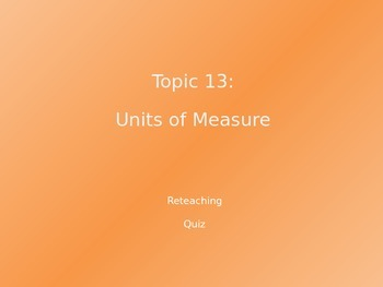 Common Core EnVision Math Fifth Grade Topic 13 Review PowerPoint