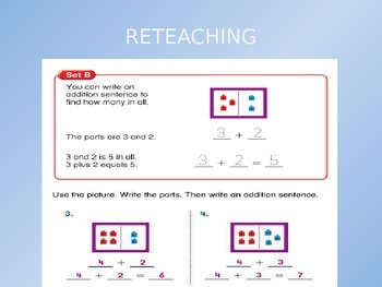 2012 Common Core EnVision Math First Grade Topic 1 Review PowerPoint