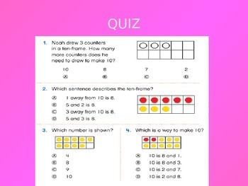 Common Core EnVision Math First Grade Topic 3 Review PowerPoint