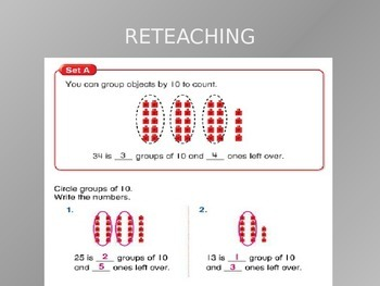 Common Core EnVision Math First Grade Topic 8 Review PowerPoint
