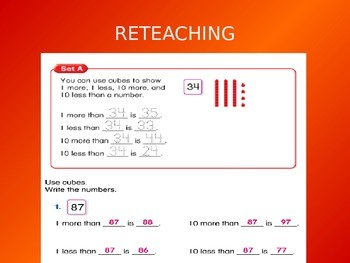 2012 Common Core EnVision Math First Grade Topic 9 Review PowerPoint