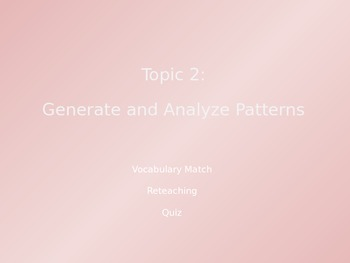 Common Core EnVision Math Fourth Grade Topic 2 Review PowerPoint