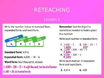 2012 Common Core EnVision Math Fourth Grade Topic 3 Review PowerPoint