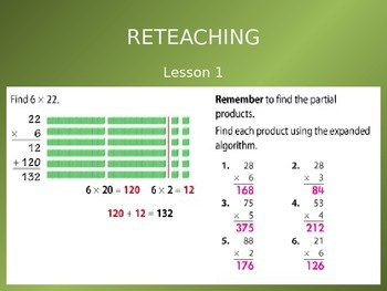 Common Core EnVision Math Fourth Grade Topic 6 Review PowerPoint