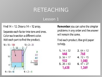 Common Core EnVision Math Fourth Grade Topic 8 Review PowerPoint