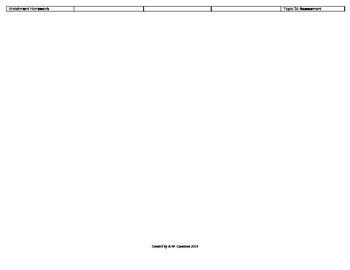 2012 Cm Core EnVision Math Kindergarten Topic 15 Unit Plan - Pos & Loc of Shapes
