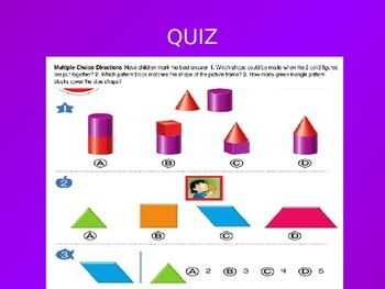 Common Core EnVision Math Kindergarten Topic 16 Review PowerPoint