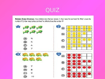 Common Core EnVision Math Kindergarten Topic 3 Review PowerPoint