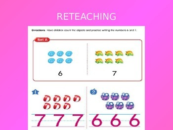 2012 Common Core EnVision Math Kindergarten Topic 3 Review PowerPoint
