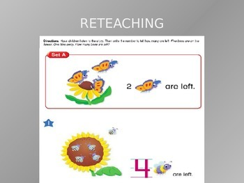 Common Core EnVision Math Kindergarten Topic 8 Review PowerPoint