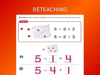 2012 Common Core EnVision Math Kindergarten Topic 9 Review PowerPoint