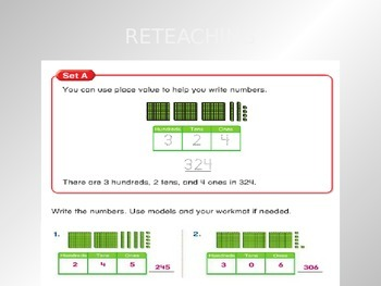 2012 Common Core EnVision Math Second Grade Topic 10 Review PowerPoint