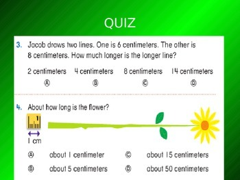 Common Core EnVision Math Second Grade Topic 15 Review PowerPoint