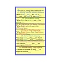 "Common Core EnVision Math Sentence Starters ""b"": 2nd Grade, Topic 1"