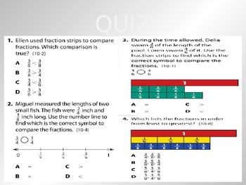 2012 Common Core EnVision Math Third Grade Topic 10 Review PowerPoint