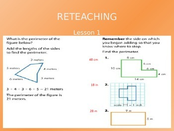 Common Core EnVision Math Third Grade Topic 13 Review PowerPoint