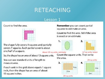 Common Core EnVision Math Third Grade Topic 14 Review PowerPoint