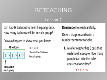 2012 Common Core EnVision Math Third Grade Topic 8 Review PowerPoint