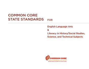 Common Core Eng Lang Arts Stds