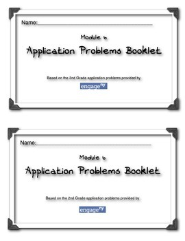 Common Core Engageny Module 6 Application Problems