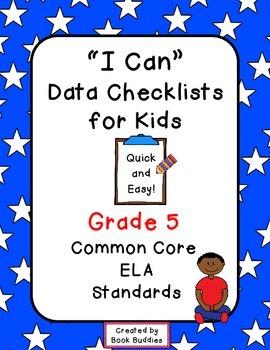 Data Checklists Common Core Grade 5 Kids