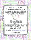 Common Core English Language Arts: Free Back-to-School eBook Grades 3-5