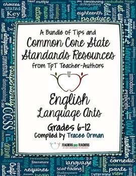 English Language Arts: Free Back-to-School eBook Grades 6-12