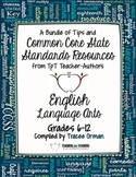 English Language Arts: Free Back-to-School eBook Grades 6-12