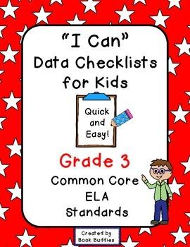 Data Checklists Common Core Grade 3 Kids