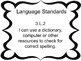 Common Core English Language Arts I CAN Posters - 3rd (Third) Grade