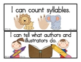 Common Core English Language Arts: I Can Statements for Kindergarten