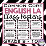 COMMON CORE ENGLISH POSTERS (Grade 9-10)