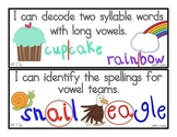 """Common Core English Language Arts Standards: """"I Can"""" Statements for Second Grade"""