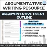 Common Core English Regents Argumentative Essay Outline