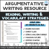 Common Core English Review Packet for Argumentative Essay