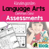 English Language Arts Assessments:Kindergarten