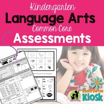 English Language Arts Assessments:Kindergarten