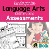 Kindergarten Assessments Language Arts Common Core