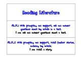 Common Core Essential Standards for Kindergarten Literacy