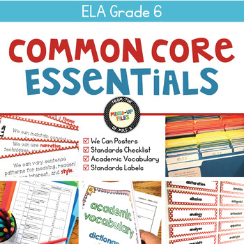 Common Core Essentials ELA Bundle 6