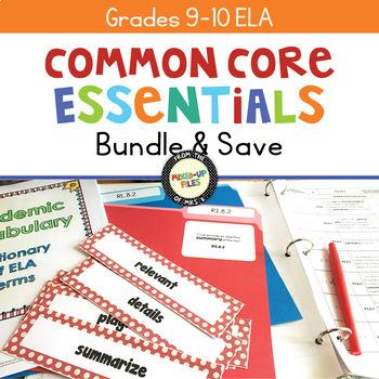 Common Core Essentials Bundle ELA 9 - 10