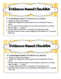 Common Core Evidence-Based Writing